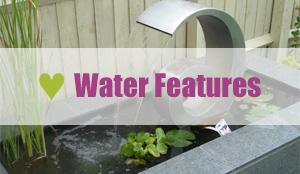 garden landscape services - water features