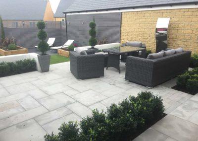 Cirencester Modern Small Garden