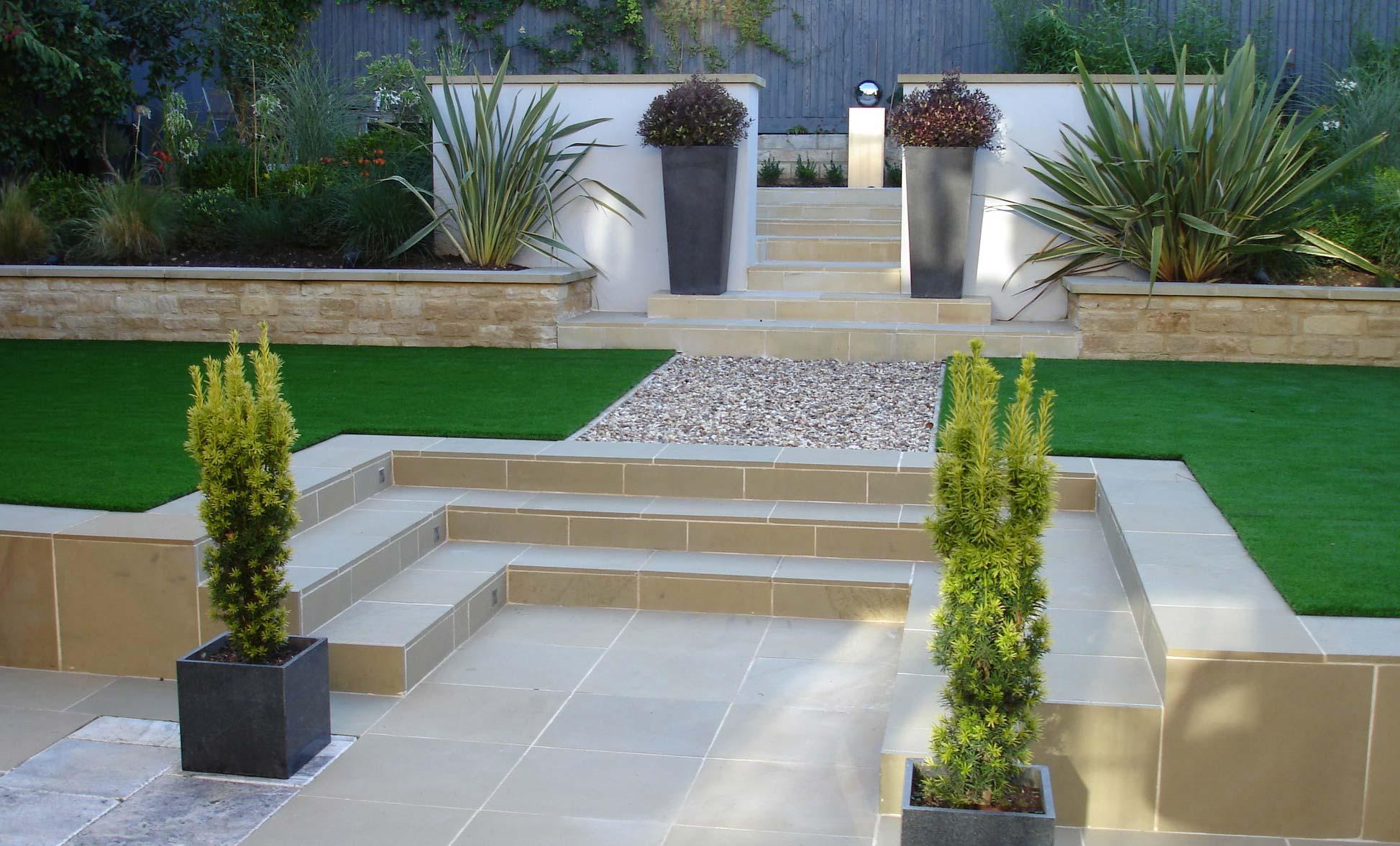 Painswick Modern Small Garden